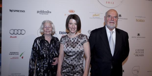 Auszeichnung zu Köchin des Jahres 2012