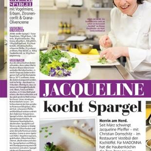 Madonna - Jacqueline kocht Spargel